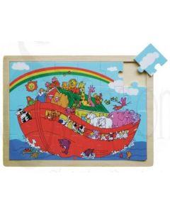 Wood Puzzle Noah's Ark