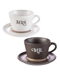 Mug: Coffee Set-Better Together, Mr & Mrs