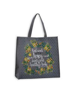 Tote Bag:Nylon-Kind Words