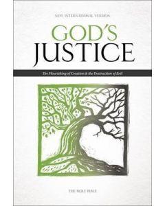 NIV God's Justice Bible, Hardcover