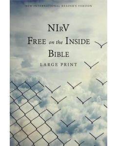 NIrV Free on the Inside Bible, Large Print- SC