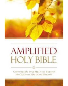 Amplified Outreach Bible-Paperback
