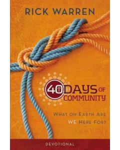 40 Days of Community Devotional