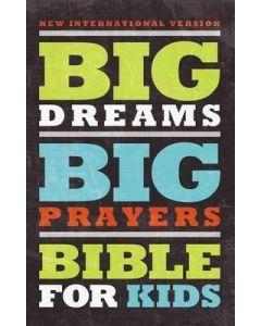 NIV Big Dreams, Big Prayers Bible for Kids