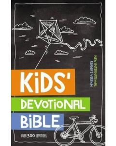NIrV Kids' Devotional Bible-HC