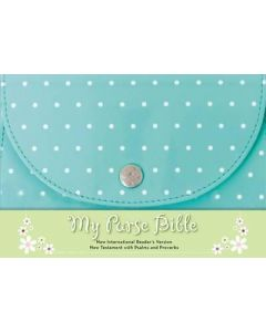 NIrV My Purse Bible Imitation Ltr-Blue