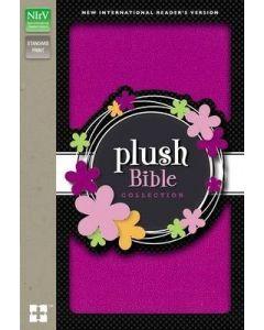 NIrV Plush Bible (Thinline-Purple Sparkle)
