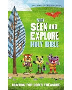 NIrV Seek And Explore Holy Bible-HC