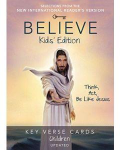 Believe Key Verse Cards: Children Edition