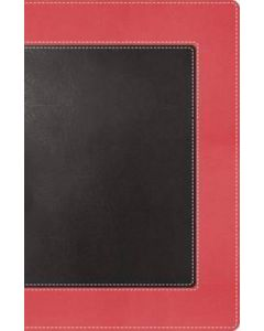 NKJV The Woman's Study Bible - Personal Size, (Pink/Charcoal)