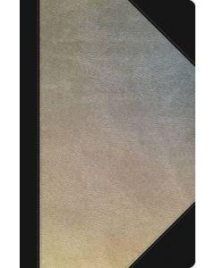 NKJV UltraSlim Ref. Bible (Leatherlook-Silver/Black, Indexed)