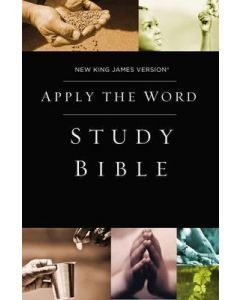 NKJV Apply the Word Study Bible (Hardcover, Red Letter Edition)