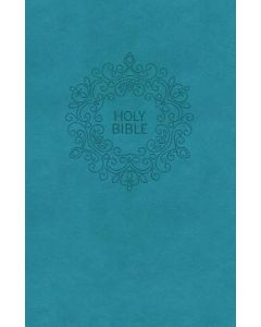 NKJV, Value Thinline Bible, Compact, Leathersoft, Blue, Red Letter Edition, Comfort Print