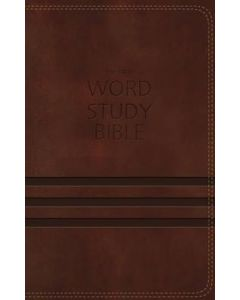 NKJV Word Study Bible -Brown