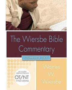 Wiersbe Bible Commentary - 2 Vol. Set (w/CD ROM)