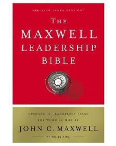 NKJV Maxwell Leadership Bible - Hard Cover