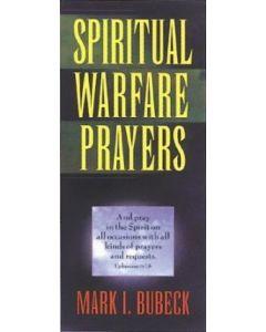 Spiritual Warfare Prayers (min. 5)