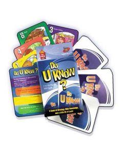 Do U Know? - Card Game (#90340)
