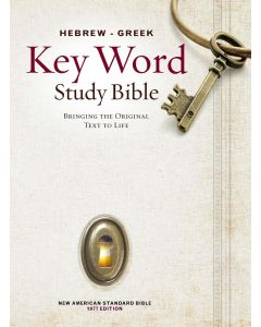 NASB Hebrew-Greek Key Word Study Bible