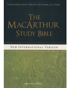 NIV MacArthur Study Bible,  The