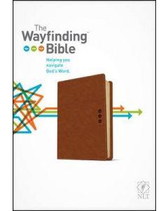 NLT Wayfinding Bible (LeatherLike, Brown/Tan)