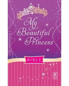 NLT My Beautiful Princess Bible, Padded - Hardcover