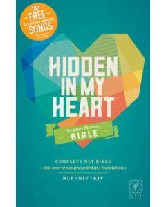 NLT Hidden in My Heart Scripture Memory Bible