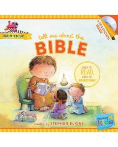 Tell Me About The Bible (w/CD & Stickers)