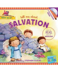 Tell Me about Salvation (with stickers & CD)