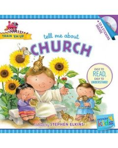 Tell Me About Church (w/CD & Stickers)