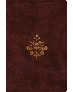 ESV Study Bible, Personal Size, TruTone, Burgundy, Branch Design