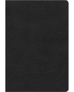 NKJV Compact Ultrathin Leather Touch-Black