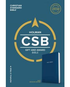 CSB Gift & Award Bible, Blue