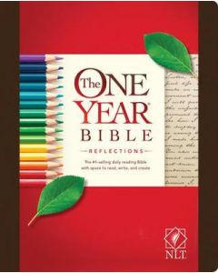 NLT One Year Bible Reflections, The- HC