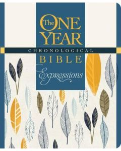 NLT One Year Chronological Bible Expressions - Blue