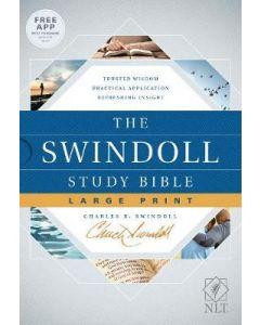NLT Swindoll Study Bible Large Print