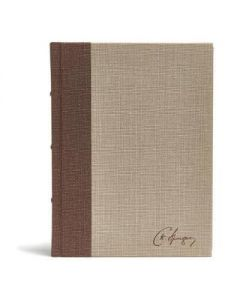 CSB Spurgeon Study Bible, Cloth Over Board-Brown/Tan