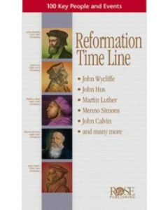 Reformation Time Line, Pamphlet