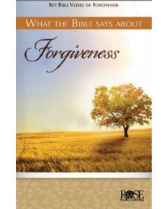 What The Bible Says About Forgiveness-Pamphlet