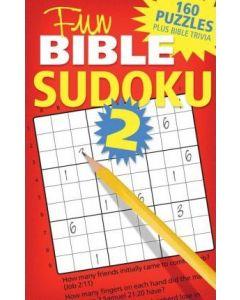 Fun Bible Sudoku 2 (Bible Puzzle Books)