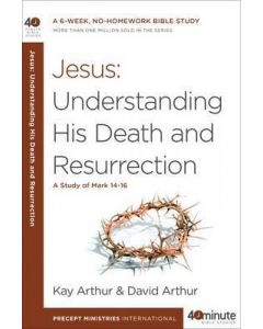40 Minute Bible Study- Jesus: Understanding His Death and Resurrection
