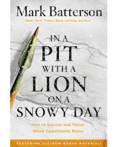 In A Pit With A Lion On A Snowy Day- Expdd