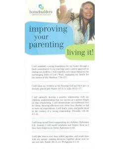 Prayer Card-Improving Your Parenting #CRD16626
