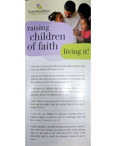 Prayer Card - Raising Children of Faith #CRD16627