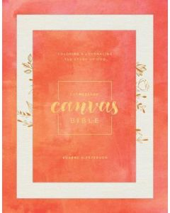 Message Canvas Bible, The- Canvas Look, Gold Leaf