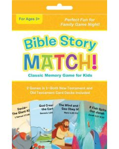 Bible Story Match!: Classic Memory Game for Kids