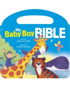 My Baby Boy Bible - Handle Board book