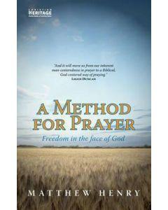 Method For Prayer, A