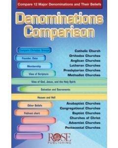 Denominations Comparison-Pamphlet