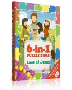 6-in-1 Puzzle Bibles-Love of Jesus